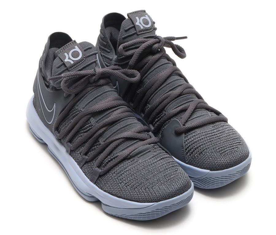 Dark Grey Nike KD 10 897815-005