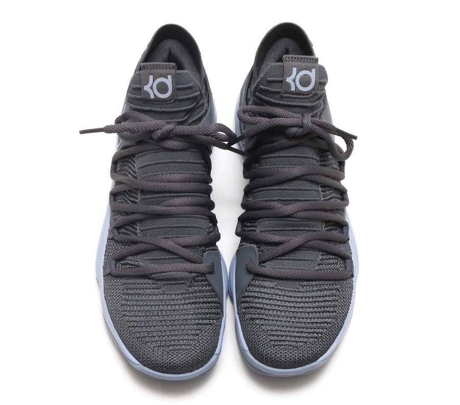 Nike KD 10 Dark Grey 897815 005 Release Date | SneakerFiles