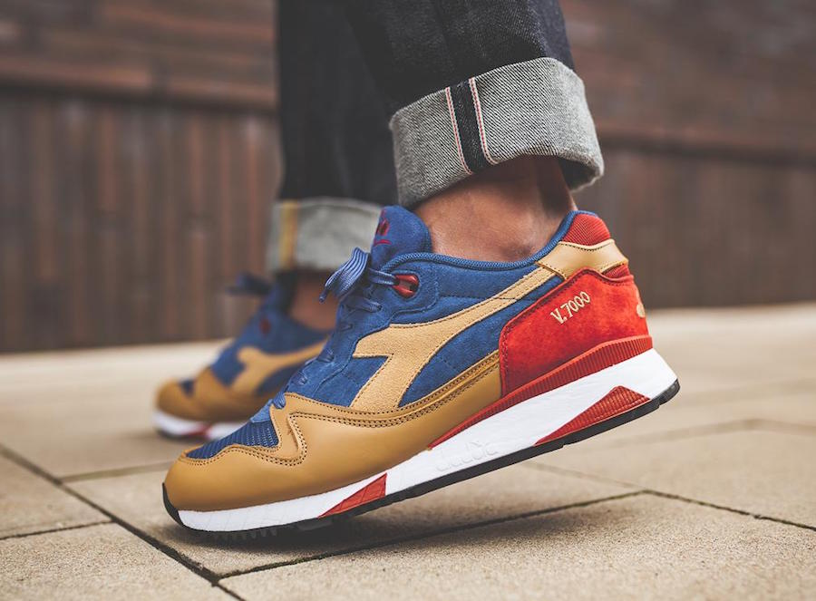 Diadora V7000 Premium Dutchblue