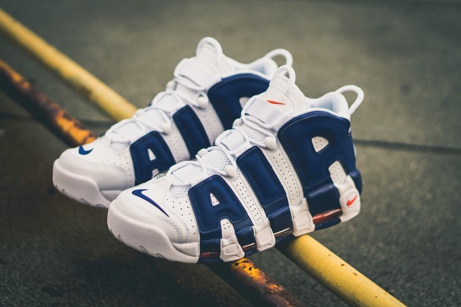 online store 0a7bb d1260 Dunk Nike Air More Uptempo Knicks