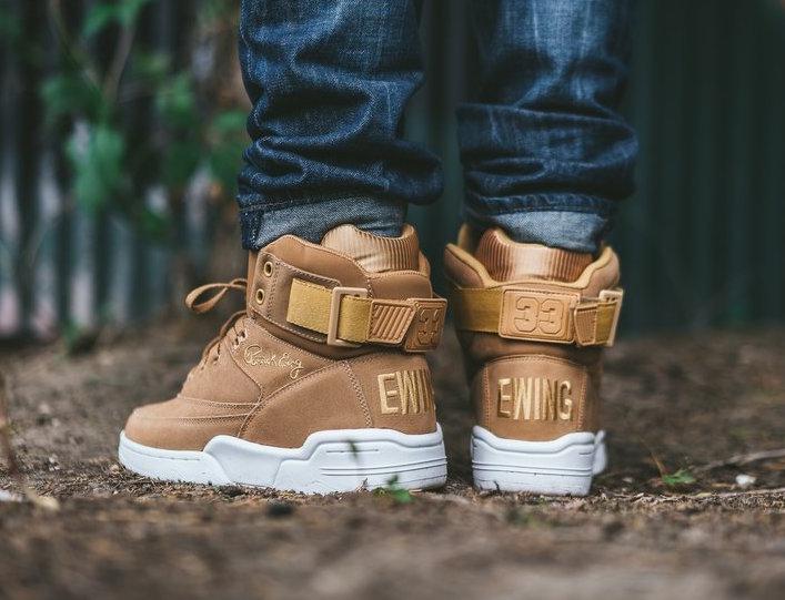 Ewing 33 Hi Tan Suede