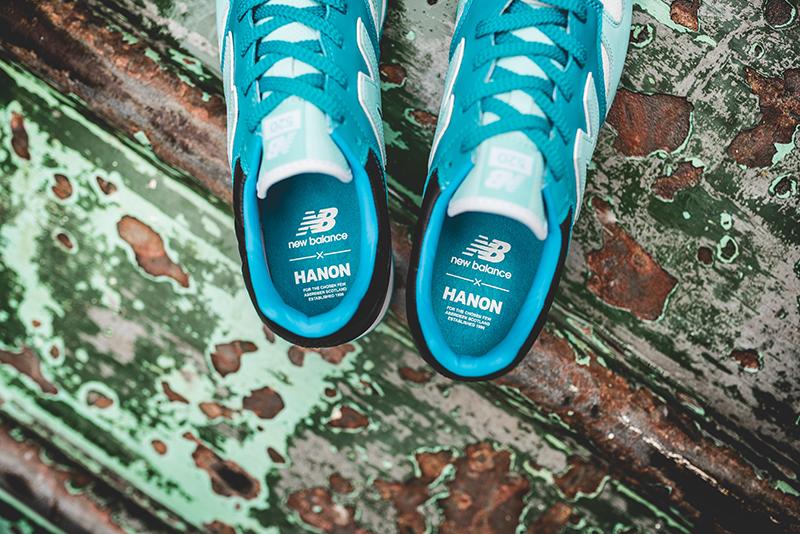 Hanon New Balance U520HNF Fisherman Blues