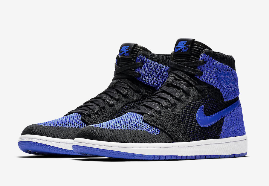 e25c4d5539c9 Air Jordan 1 Flyknit Royal Blue Release Date