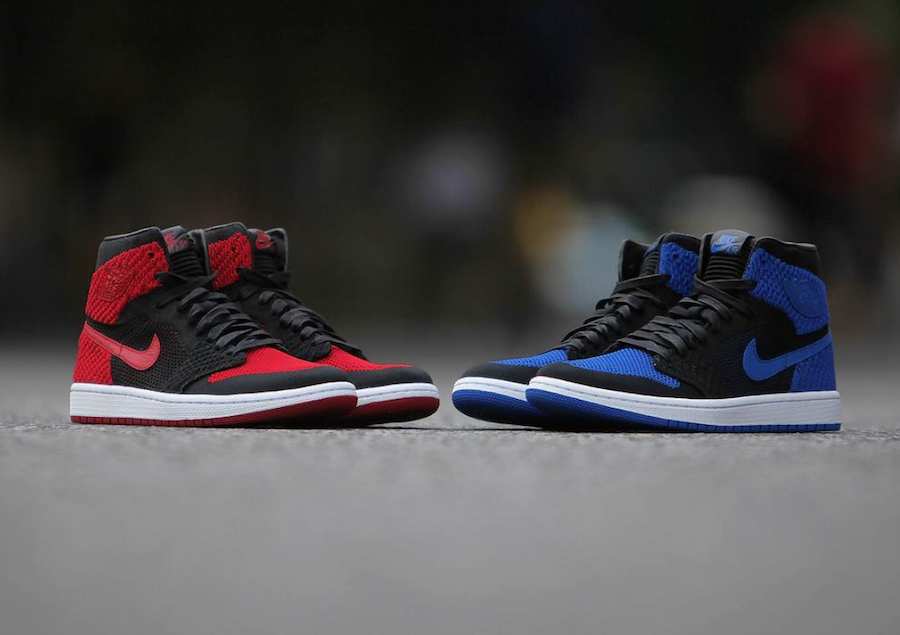 Jordan 1 Flyknit Royal Black 919704-006