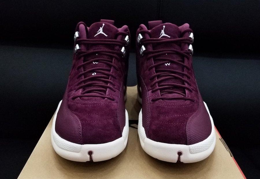 Jordan 12 Bordeaux Silver Release Date