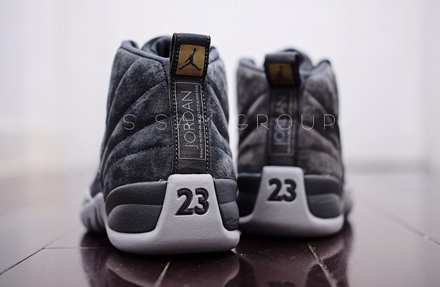 406ae2b50d4 Air Jordan 12 Dark Grey 130690-005 Release Date | SneakerFiles