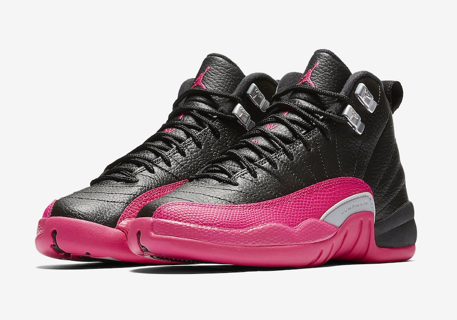 Jordan 12 GS Deadly Pink 510815-026