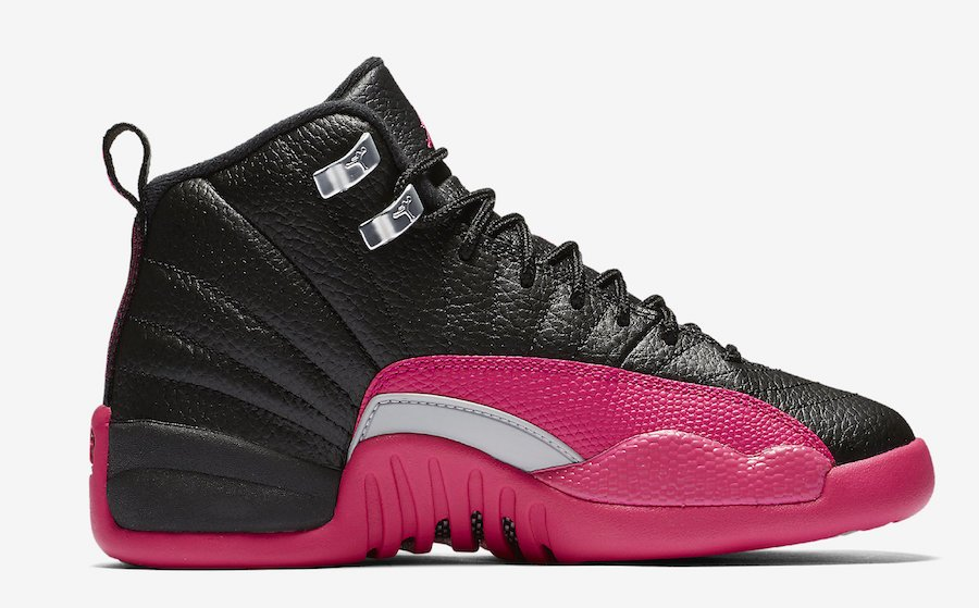 the latest b3007 e4290 Jordan 12 GS Deadly Pink 510815-026