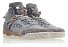 promo code a2647 d254e Jordan Spizike GS in Wolf Grey and Metallic Bronze