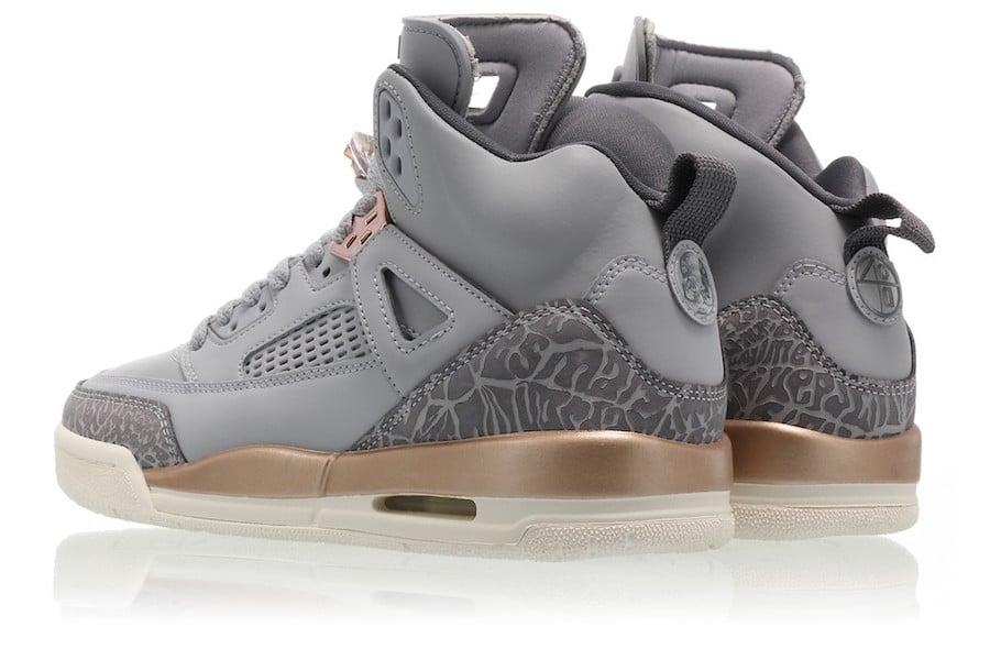 Jordan Spizike Wolf Grey Metallic Bronze