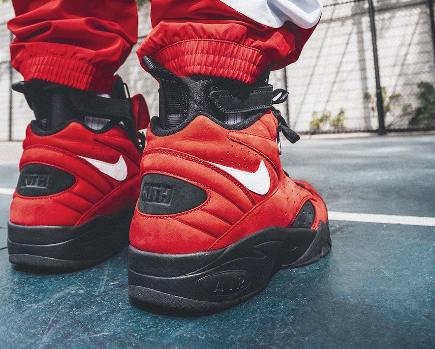 075940d3f29 KITH Nike Air Maestro 2 Red Suede Release Date