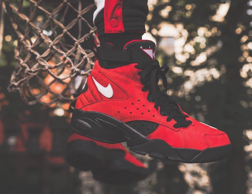 KITH Nike Air Maestro 2 Red Suede Release Date