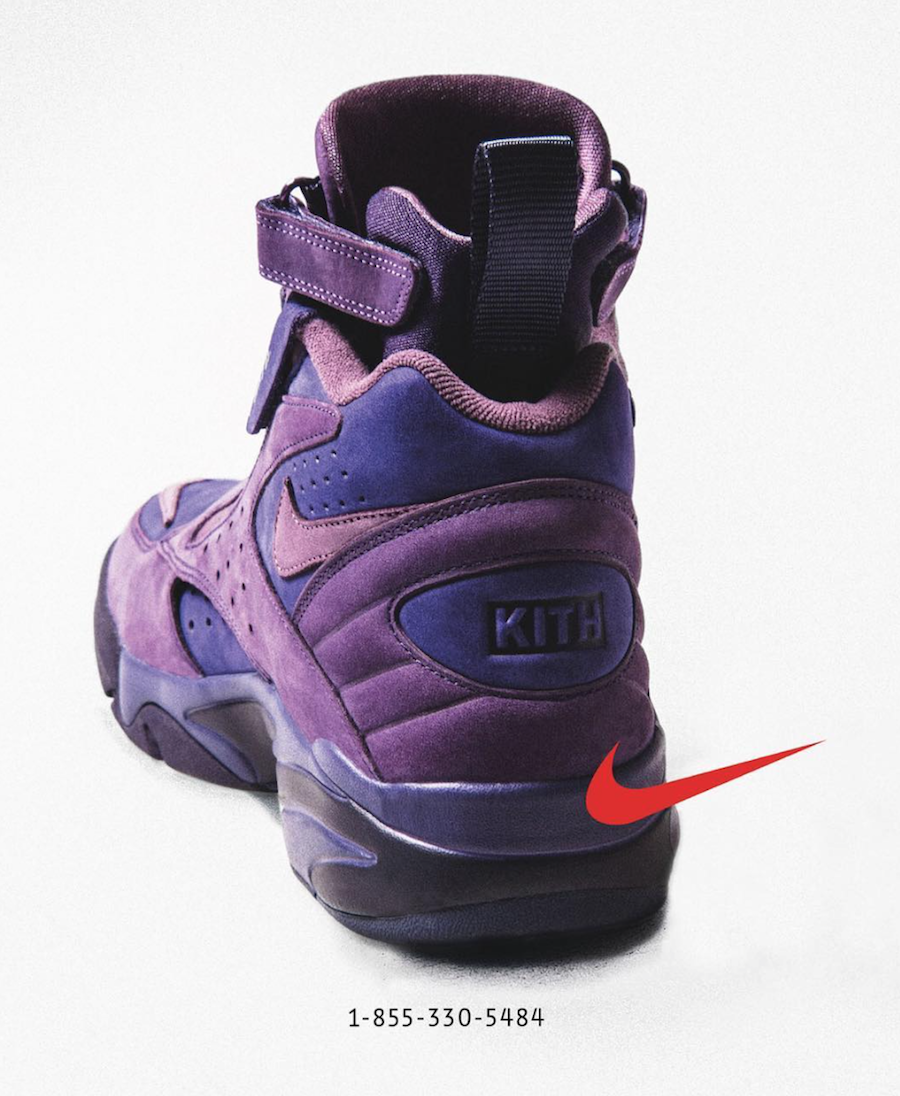 KITH Nike Air Maestro II Purple Phone Number