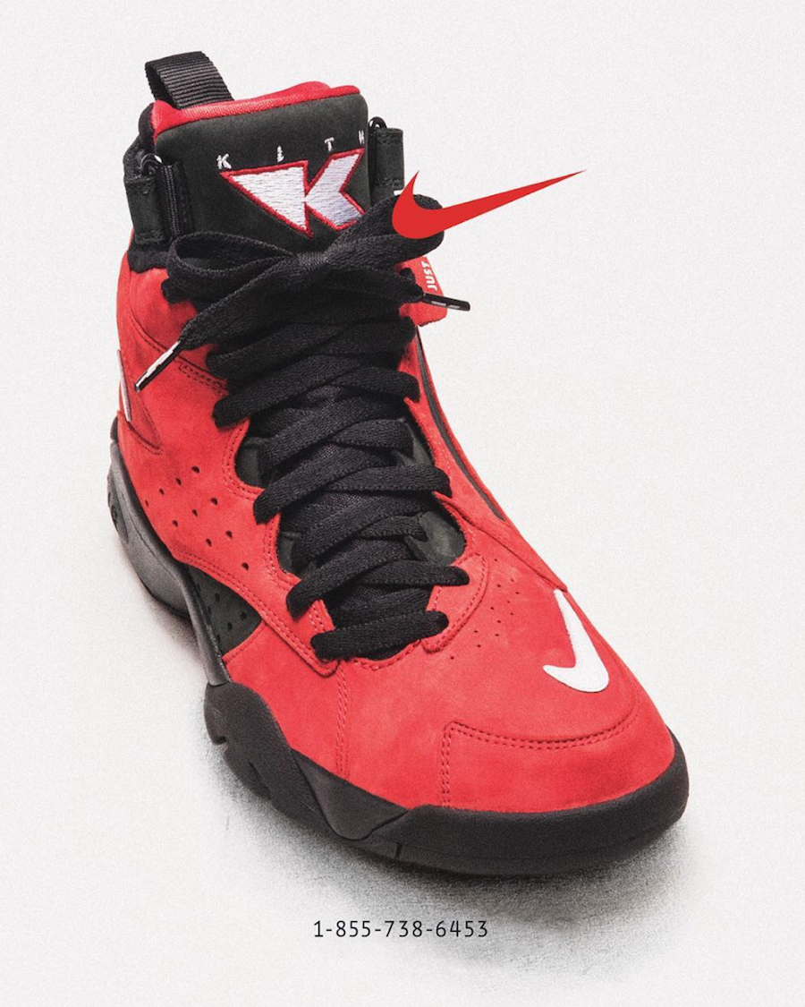 KITH Nike Air Maestro II Red Phone Number