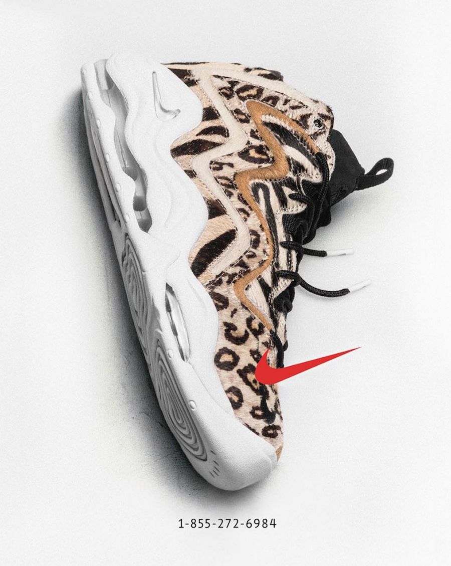 KITH Nike Air Pippen 1 Animal Print Phone Number