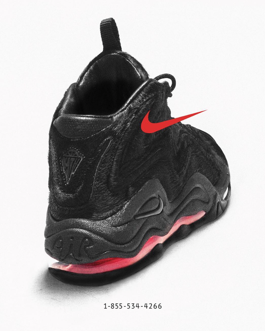 KITH Nike Air Pippen 1 Black Phony Hair Phone Number