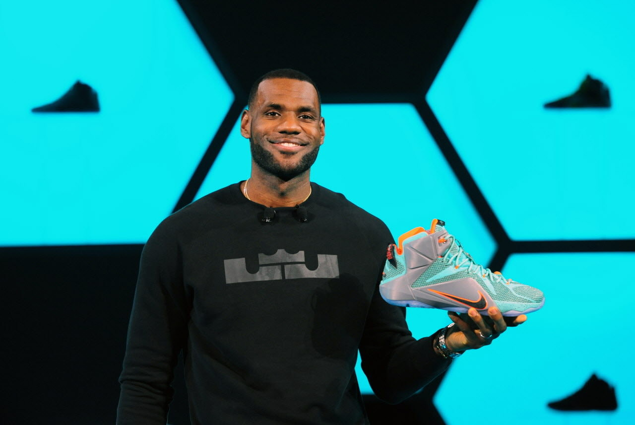 LeBron James Favorite Shoes