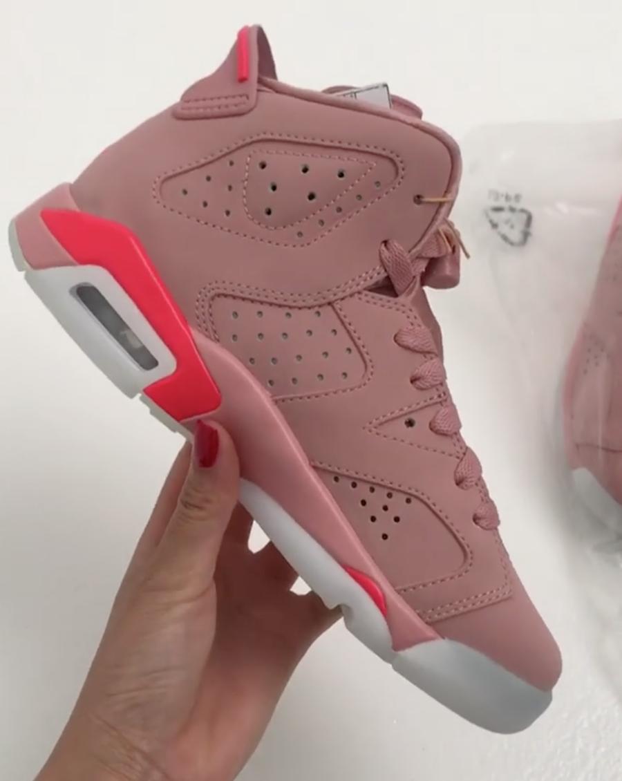 Millennial Pink Air Jordan 6 Aleali May | SneakerFiles