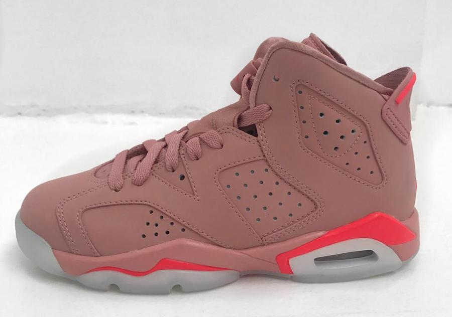 pink jordan shoes