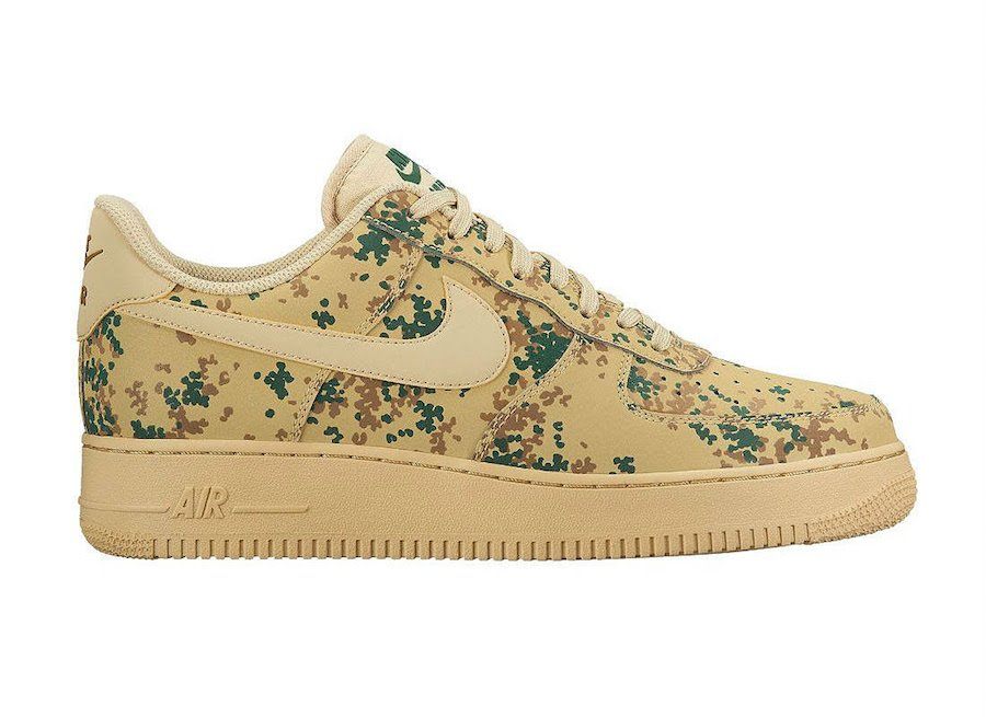 online store e54a4 21acf Nike Air Force 1 07 LV8 Camo Pack