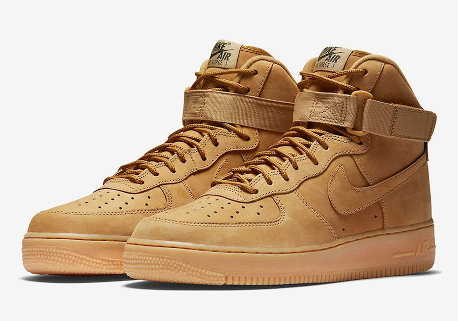 Nike Air Force 1 High Flax Release Date