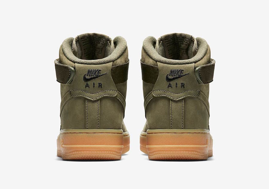 Nike Air Force 1 High Medium Olive Gum