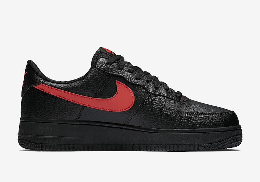 Nike Air Force 1 Low Black Gym Red