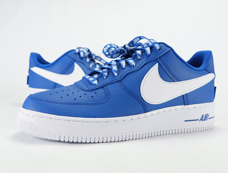 Nike Air Force 1 Low NBA Statement Game Royal Review On Feet