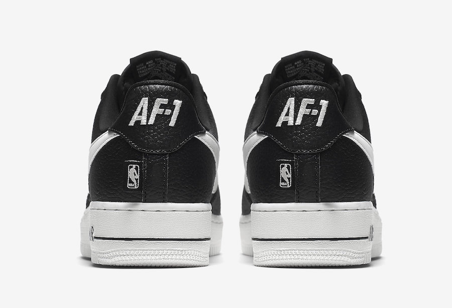Nike Air Force 1 Low Statement Game Black White 823511-007