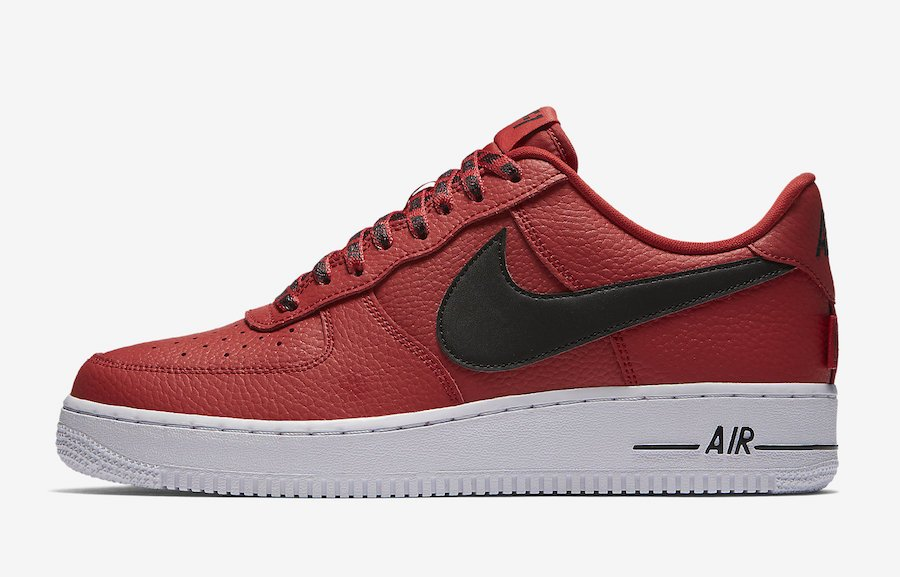 Nike Air Force 1 Low Statement Game Red Black 823511-604