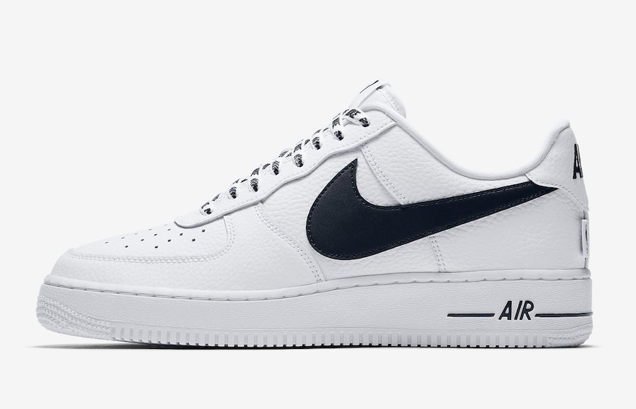Nike Air Force 1 Low Statement Game White Black 823511-103