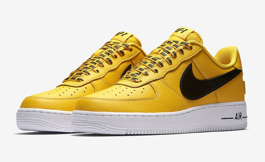 air force 1 nba jaune