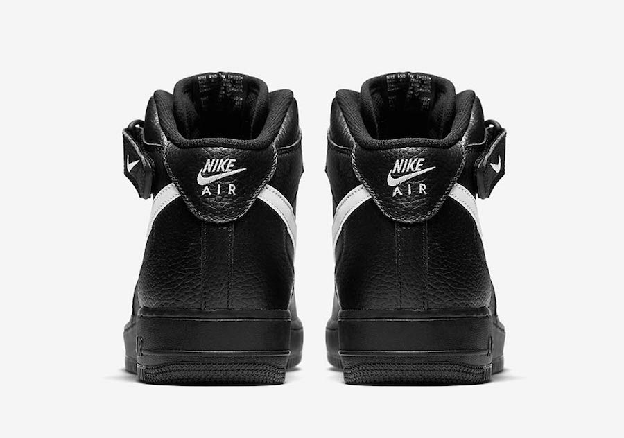Nike Air Force 1 Mid Black White 315123-043