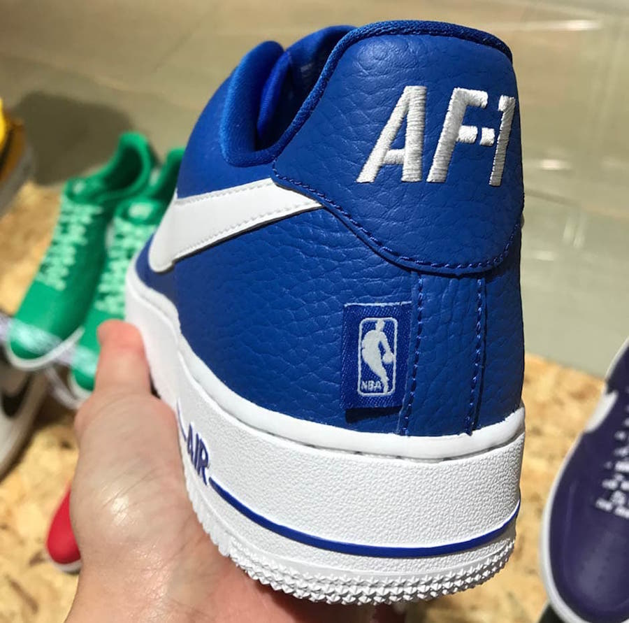 online retailer 87d1c 8e41e Nike Air Force 1 Statement Game Pack NBA Release Date