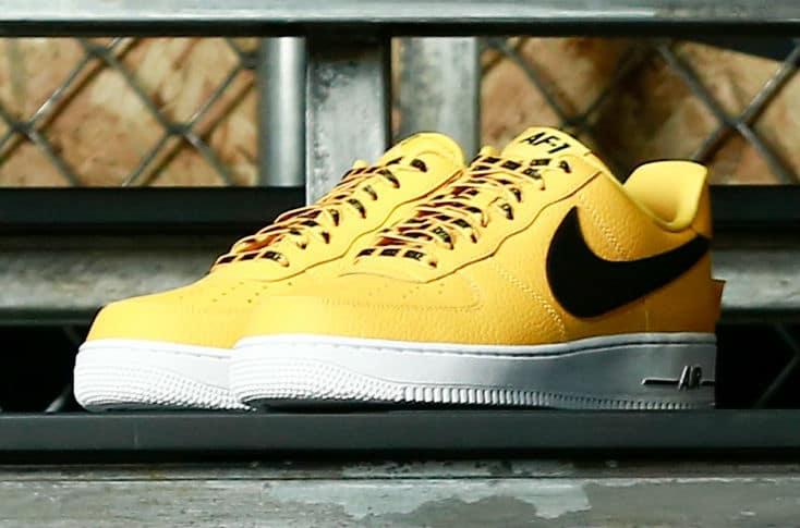 nike air force 1 low nba buy yellow