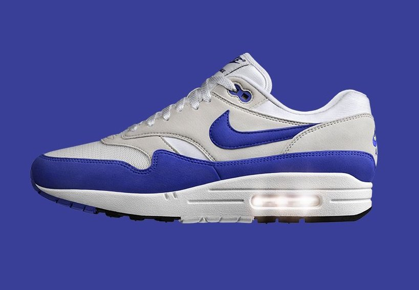 Nike Air Max 1 Anniversary Royal 908375-101