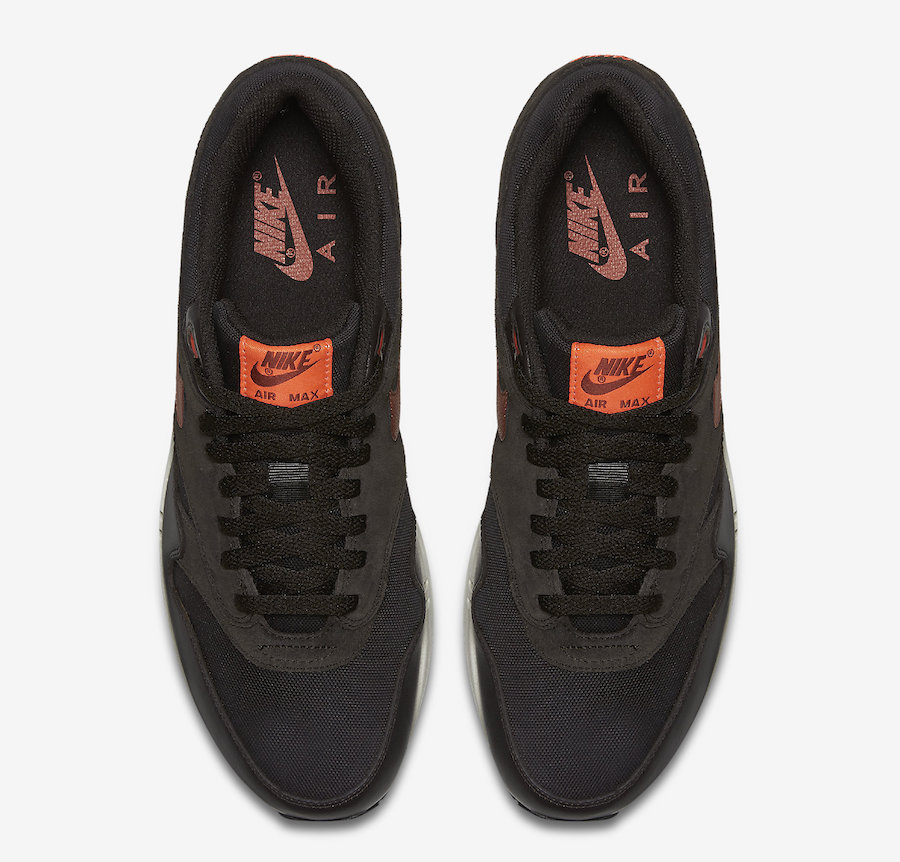 Nike Air Max 1 Premium Brown Orange