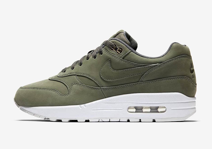 nike air max 1 wmns olive
