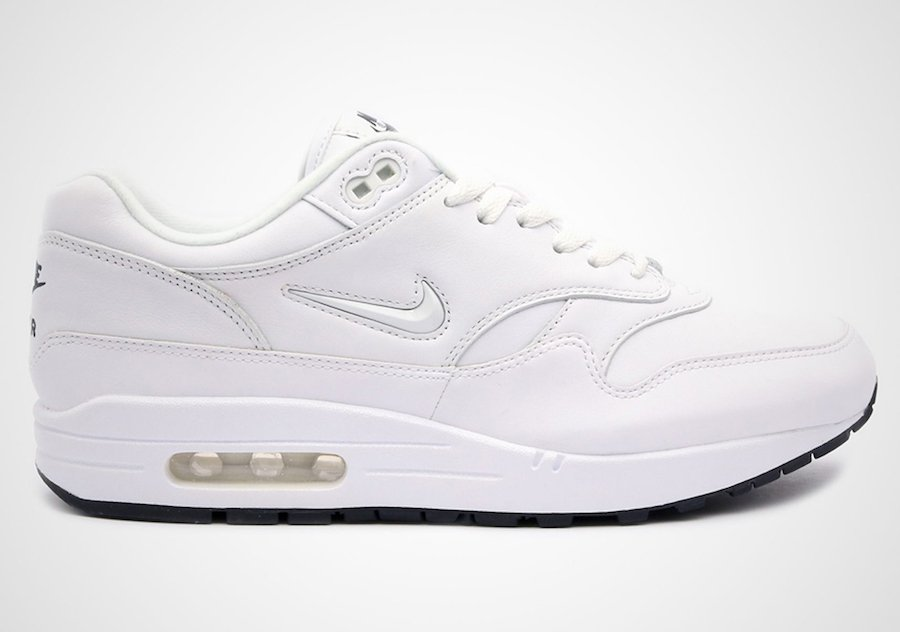 best cheap b1c6e d910b Nike Air Max 1 Premium SC Jewel White Black