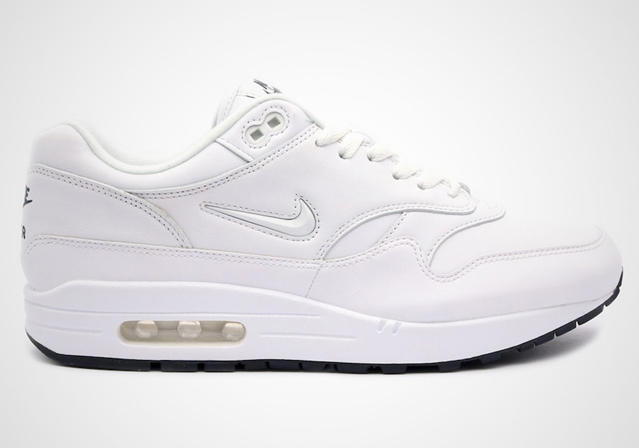 Nike Air Max 1 Premium SC Jewel White Black 918354 105
