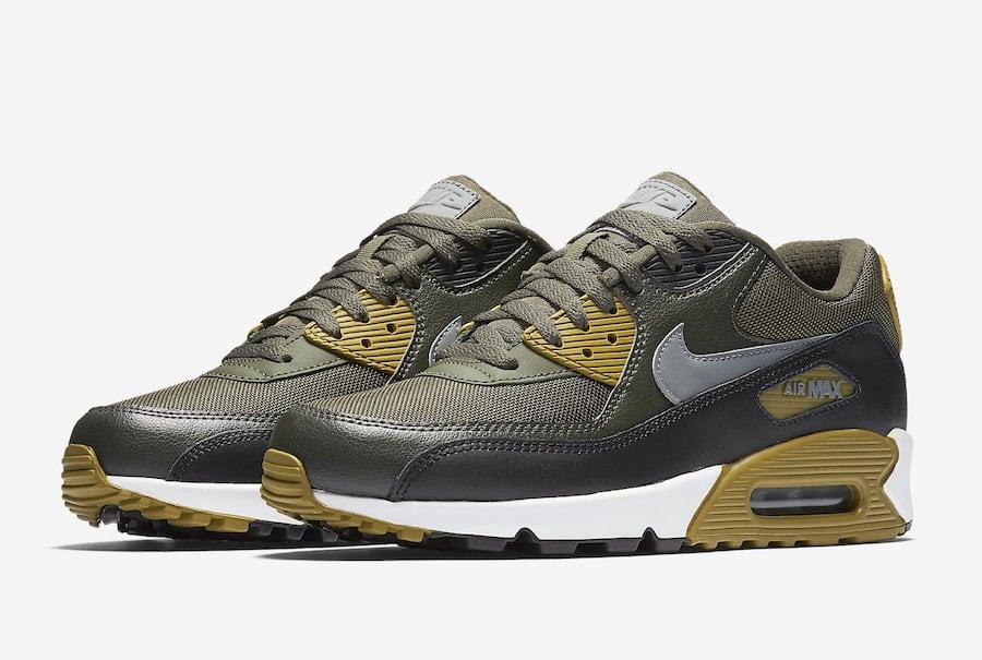 Nike Air Max 90 Essential Cargo Khaki 537384-307 | SneakerFiles