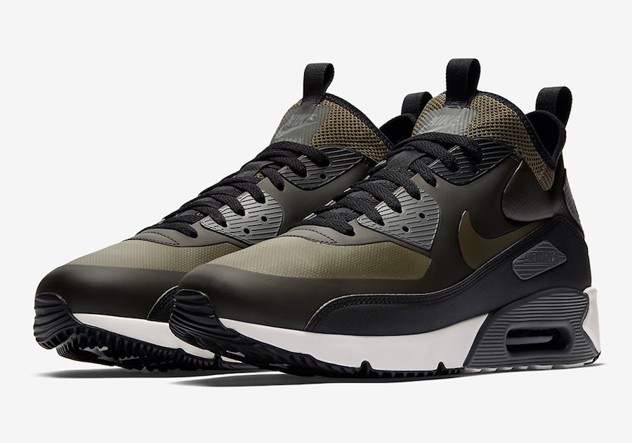 low priced b2638 0a9e6 Nike Air Max 90 Ultra Mid Winter Sequoia Olive 924458-300
