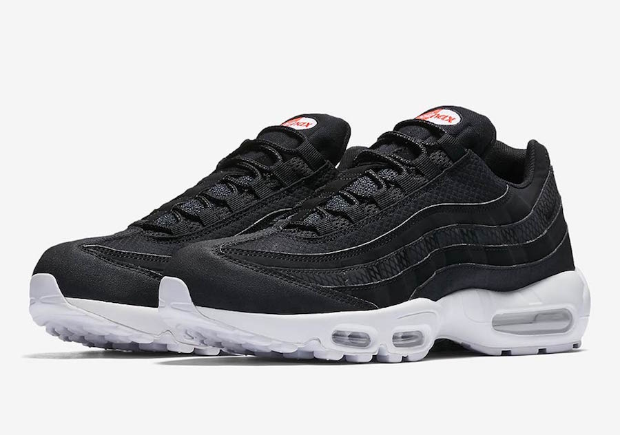 Nike Air Max 95 Premium Black White 924478,001