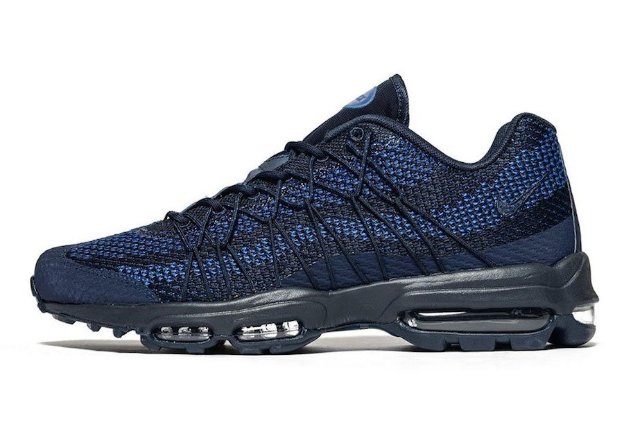 Nike Air Max 95 Ultra Jacquard Royal Blue Navy | SneakerFiles