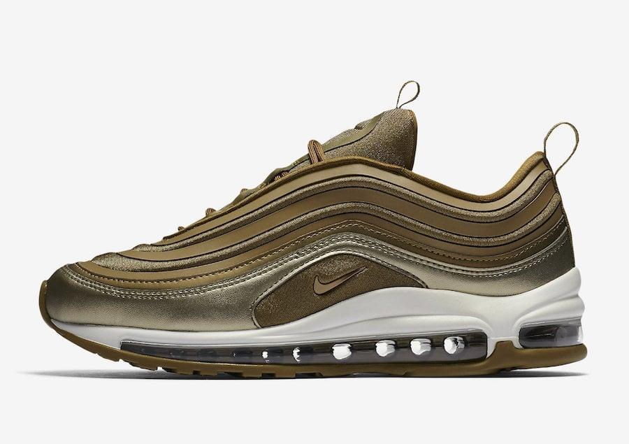 Nike Air Max 97 Ultra Metallic Gold Release Date