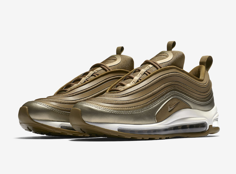 Nike Air Max 97 Ultra Metallic Gold 917704 901 | SneakerFiles