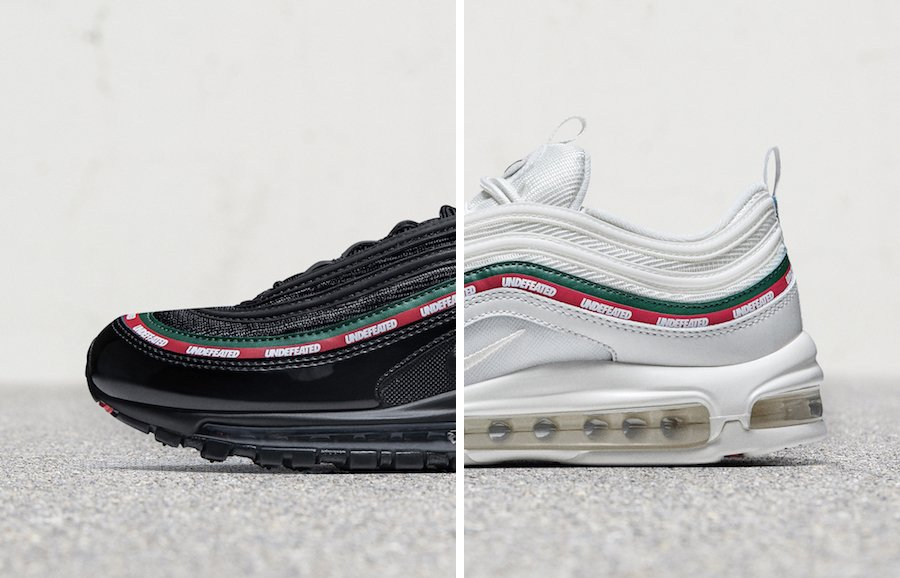 Nike Unveils the Air Max 97 Undefeated in Both Colorways