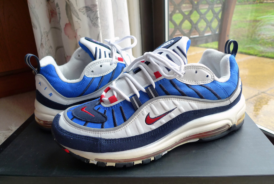 buy popular 851b1 b7fc6 Nike Air Max 98 2018 Retro Colorways Release Dates ...