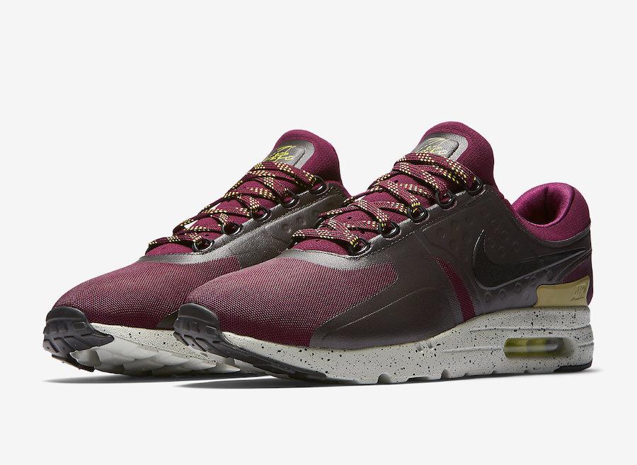 Nike Air Max Zero Bordeaux Bright Cactus