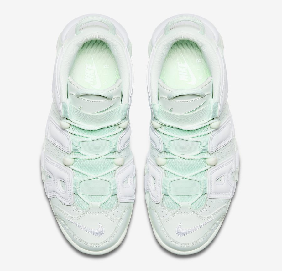 Nike Air More Uptempo Barely Green Womens 917593-300